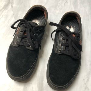 Vans Leather Suede Skate Shoes 6